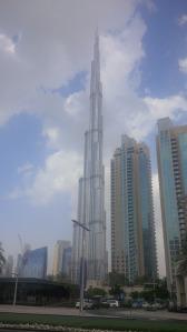 The tallest building in the world - I still can't believe I went up there!!